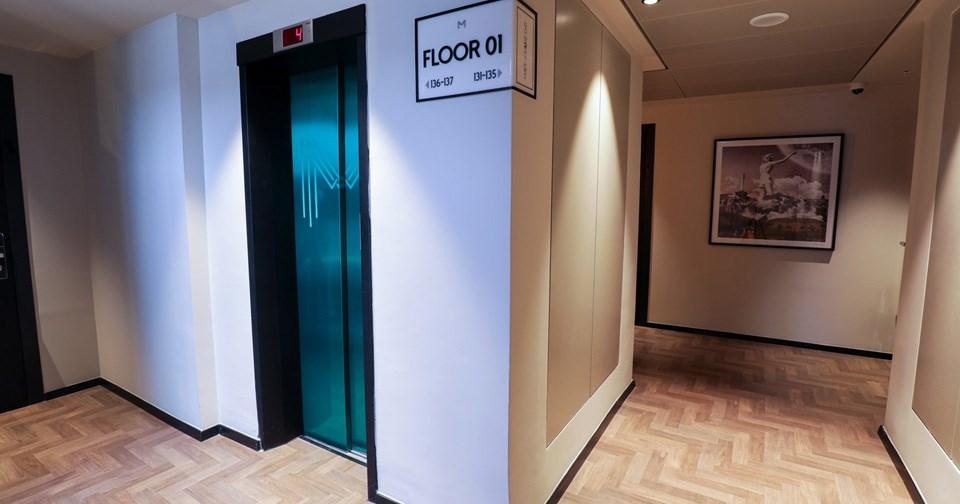 Room's Corridor - Muse Hotel Tel Aviv