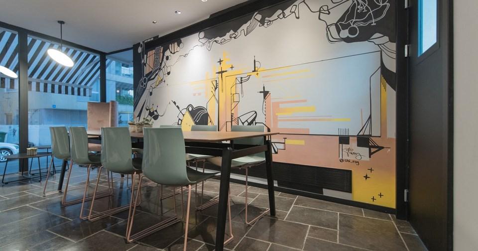 Sitting Area - Muse Hotel Tel Aviv