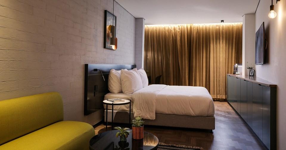 Room's bed - Muse Hotel Tel Aviv