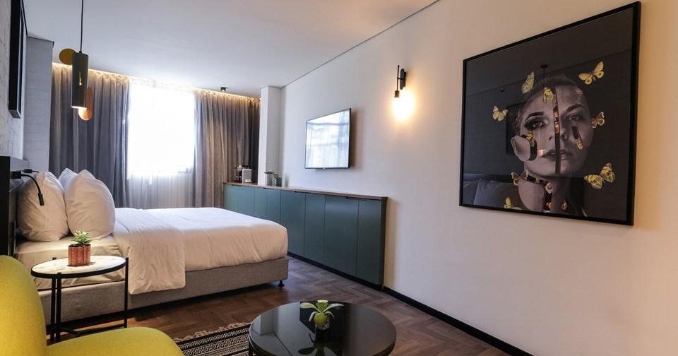 Room's design - Muse Hotel Tel Aviv