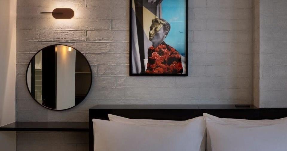 Hagara's art at Muse Hotel Tel Aviv