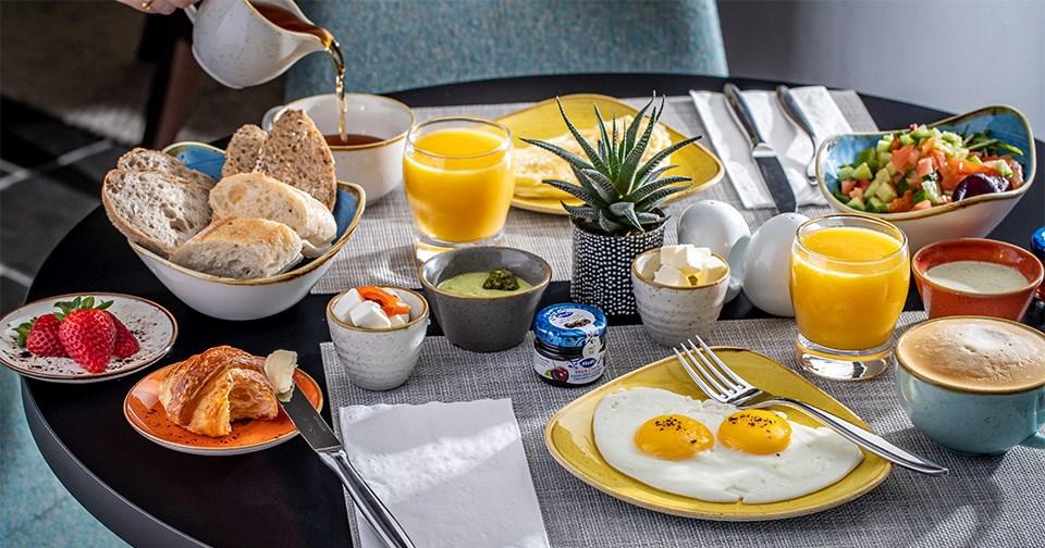 Breakfast - Muse Hotel Tel Aviv