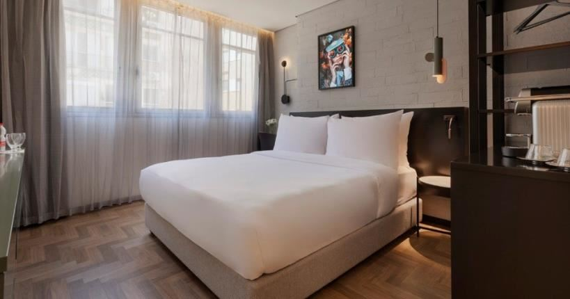 Muse hotel bedroom