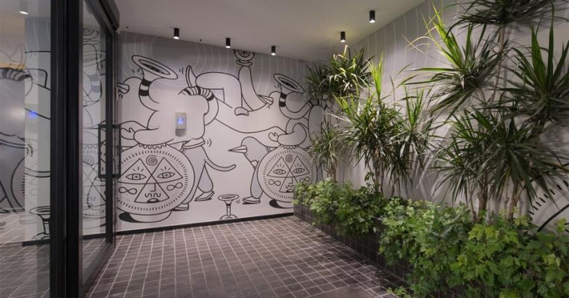 Hotel's entrance - Muse Hotel Tel Aviv